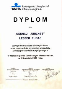 Dyplom 2008 listopad