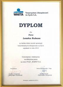 Dyplom 2010